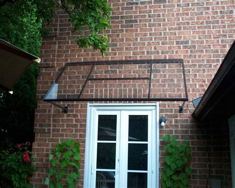 Glass Awning Residential - residential awnings canopies gallery toronto