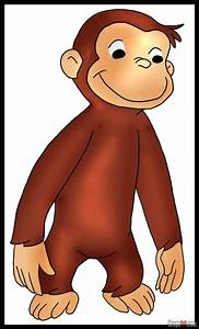 How to Draw Curious George, Step by Step, Pbs Characters ...