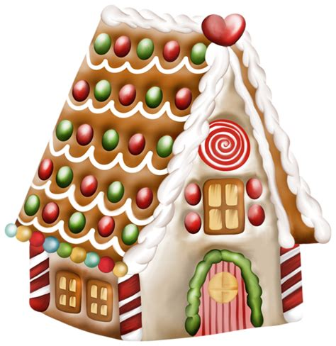Gingerbread House Clip Pin Gingerbread House Clip Vector Royalty Free