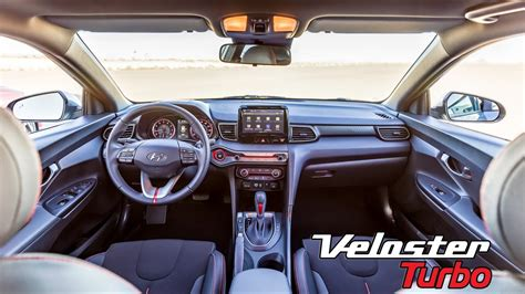 hyundai veloster turbo interior youtube