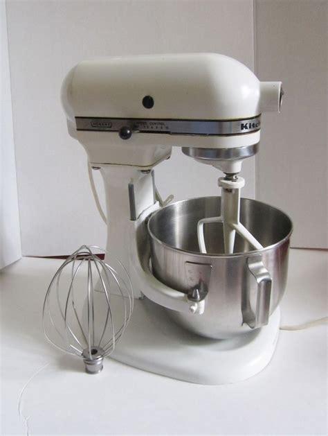 Kitchen Mixer Hobart by Kitchenaid K5 A White Hobart Stand Mixer With 2