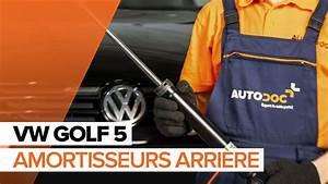 Amortisseur Golf 6 : comment remplacer des amortisseurs arri re sur une vw golf 5 tutoriel autodoc youtube ~ Melissatoandfro.com Idées de Décoration