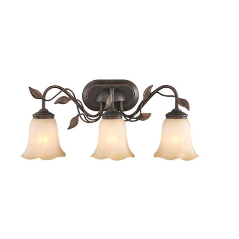 Allen And Roth Bathroom Vanity Lights by Vanity Light Lowes Shop Allen Roth 3 Light Eastview