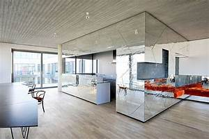 Interior Design Berlin : retro bling penthouse interior design by lecarolimited ~ Markanthonyermac.com Haus und Dekorationen