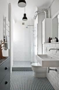 White Bathroom Tile Ideas 35 Vintage Black And White Bathroom Tile Ideas And Pictures