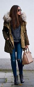 50 Casual and Warm Winter Outfit Ideas - Fashionetter