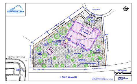 build a house floor plan 24h site plans for building permits plot plan site plan