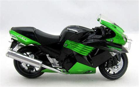green 1 12 scale newray diecast kawasaki zx 14r