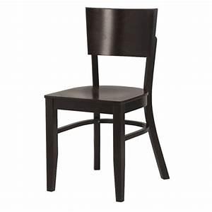 Chaise Bistrot Bois : chaise bistrot bois noir gastromastro group sas ~ Teatrodelosmanantiales.com Idées de Décoration