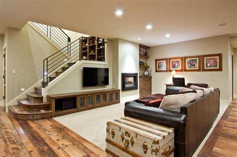 incredible finished basements  hardwood flooring