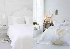 Deco Chambre Blanche : decoration chambre blanche ~ Zukunftsfamilie.com Idées de Décoration