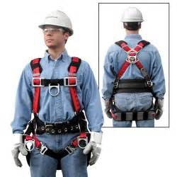 MSA Technacurv Safety Harness 4 D Rings