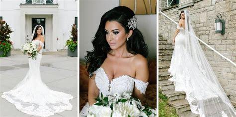 Real Martina Liana Bride Dahlia + Elias Pretty Happy