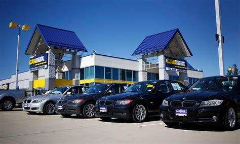 carmax auto finance income rises
