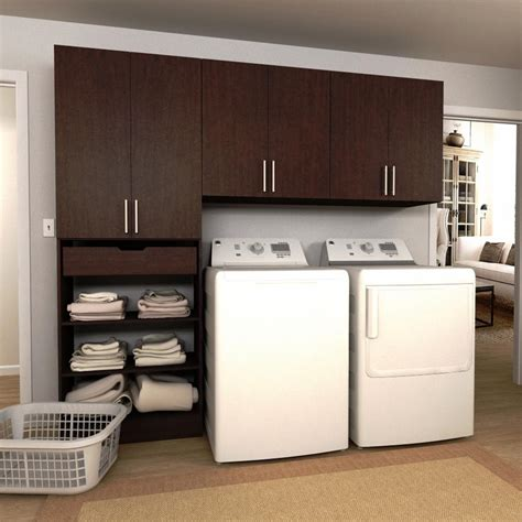 Modifi Horizon 105 In W White Laundry Cabinet Kitenl105