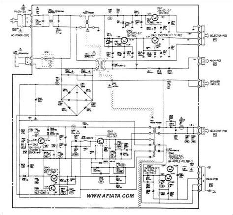 lcd tv power supply circuit diagram electronic circuit