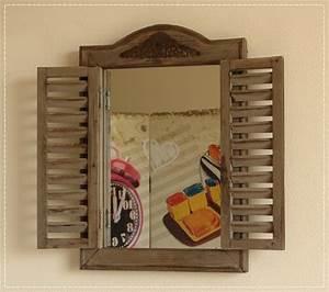 Kleiner Gartenzaun Holz : kleiner spiegel mit fensterladen wandspiegel holz braun used look neu ebay ~ Bigdaddyawards.com Haus und Dekorationen