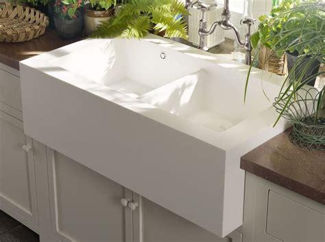 vasche in corian corian 174 salty lavello a 2 vasche by dupont de nemours