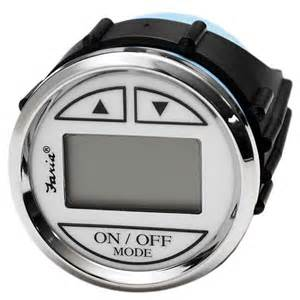 Depth Finder For The Boat by Faria Ds0110 Newport Silver White Boat Depth Finder