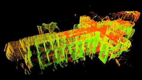 historian  lasers  unlock mysteries  gothic cathedrals