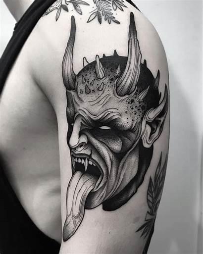 Demon Tattoo Tattoos Tatuajes Diablo Evil Satanic