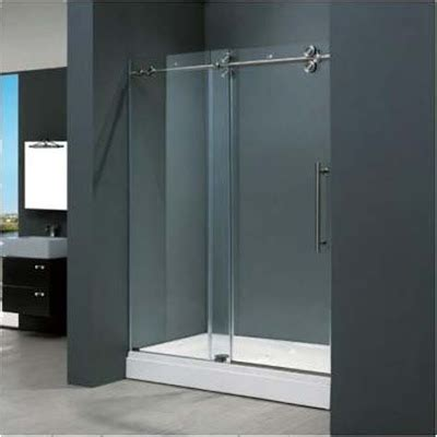 home design ideas bathrooms frameless sliding doors ideas