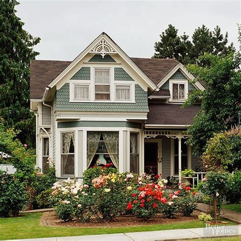 Victorianstyle Home Ideas  Curb Appeal  Victorian Homes