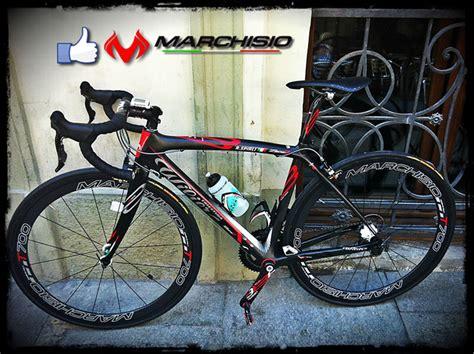 Pagina completa informativa circa marchisio bici a millesimo: Bici di Spirli René con ruote Marchisio T700 Tubular 50mm ...