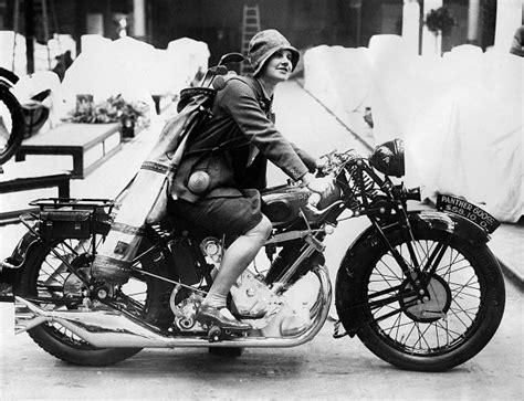 Cool Girls Riding Their Motorbikes
