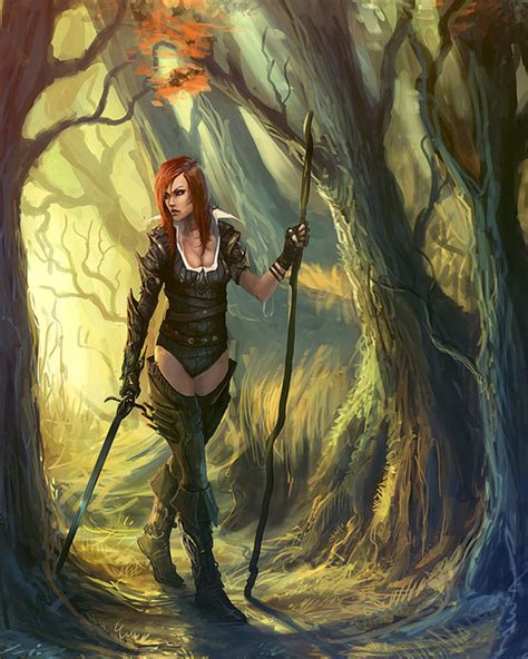 gothic punk fantasy art featuring standalone complex