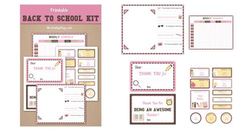 school printable pack