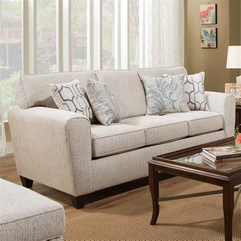 American Furniture 3100 Sofa With Casual Style Miskelly