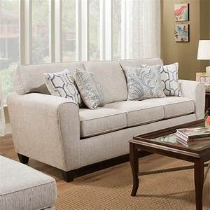 American furniture 3100 sofa with casual style vandrie for American home furniture couches
