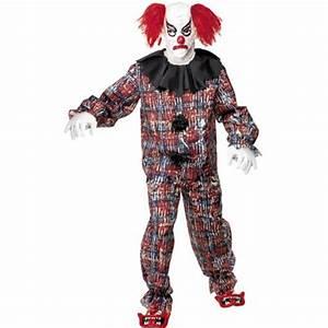 Scary Clown IT Fancy Dress Halloween Horror Costume