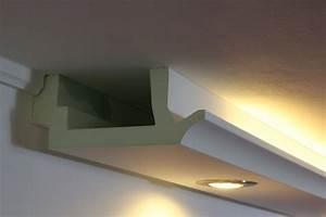 Led Profile Indirekte Beleuchtung : led stuckprofil wdkl 200b pr indirekte beleuchtung wand decke bendu ~ Orissabook.com Haus und Dekorationen