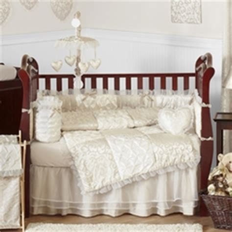 lace crib bedding lace satin and tulle baby bedding
