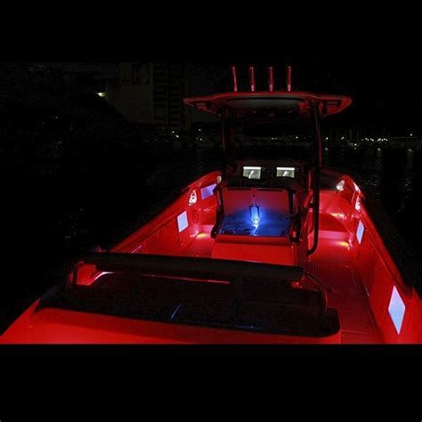 Boat Led Strip Lights by Led Boat Lights Red Waterproof Bright Led Lighting Kit