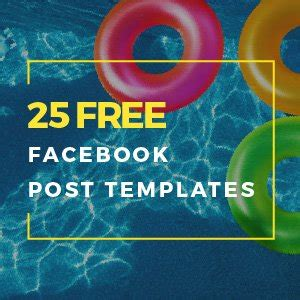 Staying Trendy: 25 Free Facebook Post Templates – Crello Blog
