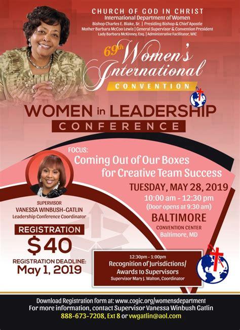 women  leadership conference international cogic women