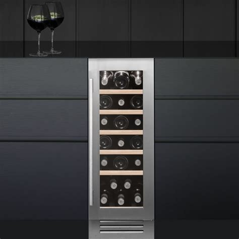 Best Cabinet Wine Cooler by Caple Wi3123 30cm Undercounter Wine Cooler Stainless