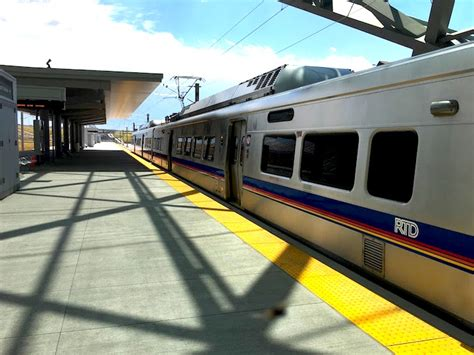 light rail to dia the light rail to denver international airport