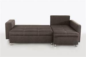 Canape d39angle lyon marron fonce sb meubles discount for Tapis chambre bébé avec canapé d angle convertible lyon