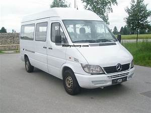 Mercedes Sprinter 313 Cdi : mercedes benz sprinter 313 cdi 2004 estate minibus up to 9 seats truck photo and specs ~ Gottalentnigeria.com Avis de Voitures