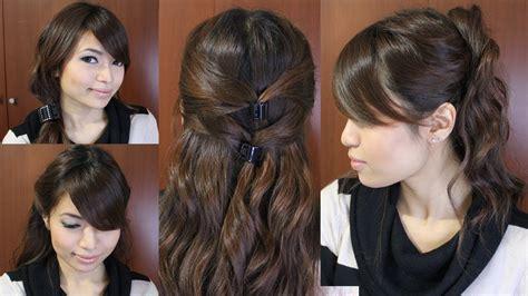casual friday easy hairstyles  medium long hair