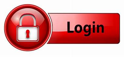 Login Button Icon Vector Illustration Buttons Glossy