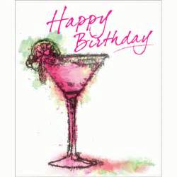 Happy Birthday Cocktail Drinks