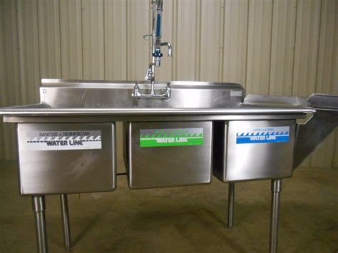 3 compartment sink for sale 3 compartment sink faucet with spray befon for