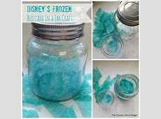 Frozen Blizzard In A Jar Craft Pictures, Photos, and