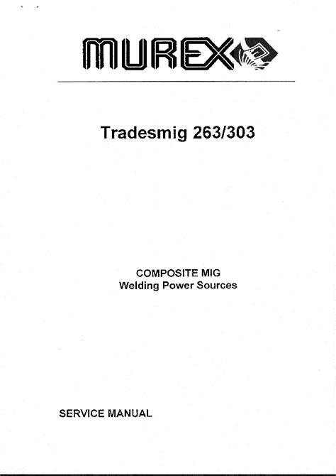 murex tradesarc 141i service manual schematics eeprom repair info for electronics