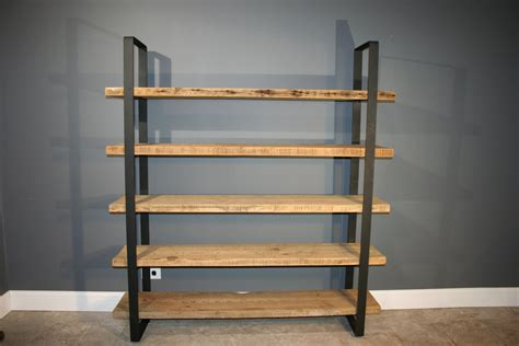 wood shelving reclaimed wood shelf shelving unit with 5 by